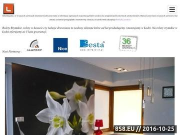Zrzut strony Żaluzje, plisy oraz rolety - realizacja Łódź i okolice