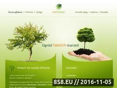 Miniaturka domeny www.lukgarden.pl