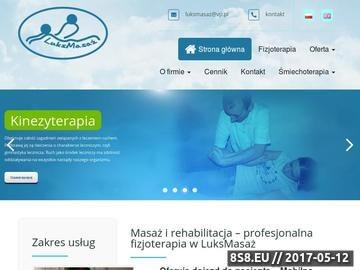 Zrzut strony Profesjonalny masaż i rehabilitacja w Szczecinie - LuksMasaż