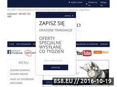 Miniaturka domeny www.luksusowezegarki.pl