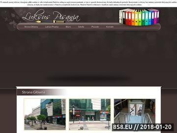 Zrzut strony Artykuły szkolne za pośrednictwem sklepu Luksus Pisania - Wrocław