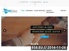 Miniaturka domeny www.lumadruk.pl