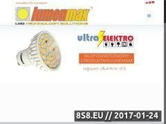 Miniaturka domeny www.lumenmax.eu
