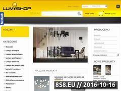 Miniaturka domeny lumishop.pl