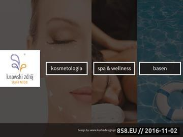 Zrzut strony Lusowski Zdój Spa & Wellness