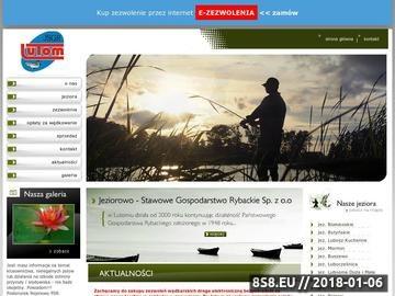 Zrzut strony Jeziorowo - Stawowe Gospodarstwo Rybackie Sp. z o.o. łowisko specjalne