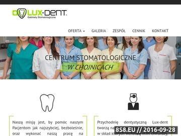 Zrzut strony Klinika dentystyczna Chojnice