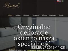Miniaturka domeny luxan.pl