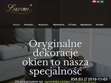 Zrzut strony Żaluzje Szczecin
