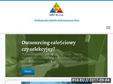 Zrzut strony Luxbit - programy księgowe