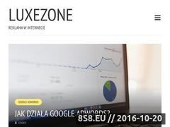 Miniaturka domeny luxezone.pl