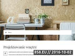Miniaturka domeny luxinteriors.com.pl