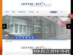 Miniaturka domeny luxpol-bis.pl