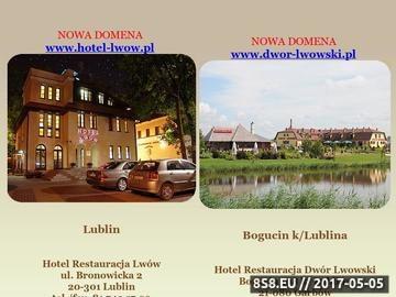 Zrzut strony Hotel Lwów w Lublinie