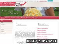 Miniaturka domeny www.m-deco.pl