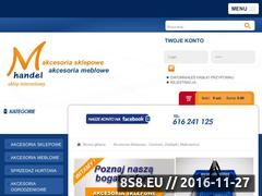 Miniaturka domeny www.m-handel.pl