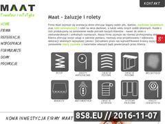 Miniaturka domeny maat.com.pl