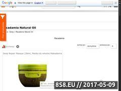 Miniaturka domeny www.macadamia.com.pl