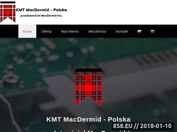 Zrzut strony Produkty do powlekania galwanicznego MACDERMID