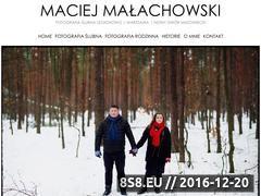Miniaturka domeny www.maciejmalachowski.pl