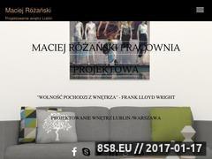 Thumbnail of Projektowanie wnętrz Lublin - Maciej Różański Website