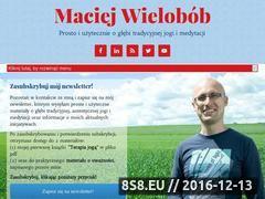 Miniaturka domeny maciejwielobob.pl