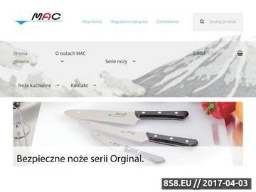 Zrzut strony Noże kuchenne