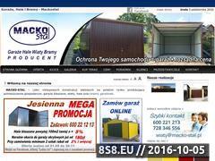 Miniaturka domeny www.macko-stal.pl
