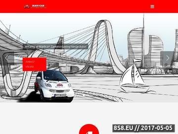 Zrzut strony Rejestracja pojazdu Poznań