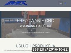 Miniaturka domeny www.madrom.com.pl