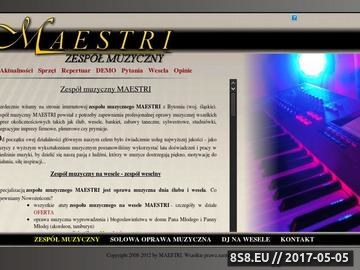 Zrzut strony Profesjonalny zespół muzyczny na wesele [Śląsk], zespoły weselne Katowice
