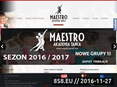 Miniaturka domeny maestro.taniec.info