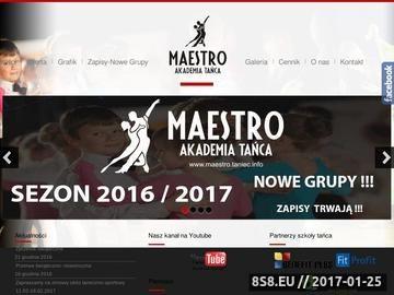 Zrzut strony Nauka Tańca Opole