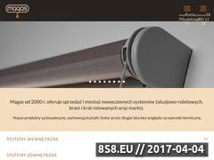 Miniaturka domeny www.magas.pl
