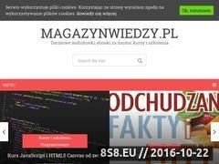 Miniaturka domeny www.magazynwiedzy.pl