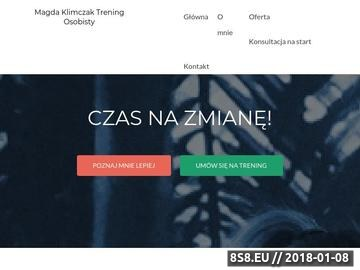 Zrzut strony Trener personalny Katowice