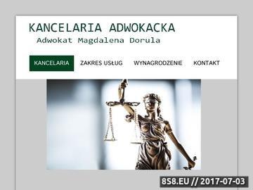 Zrzut strony Kancelaria prawna Zakopane