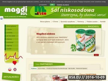 Zrzut strony Sól czosnkowa - Manavita