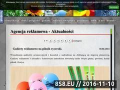Miniaturka domeny www.magia-reklamy.pl