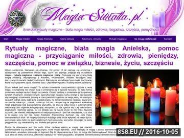 Zrzut strony Rytuały magiczne białej magii Anielskiej