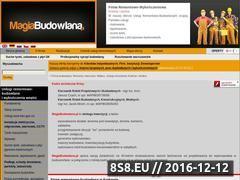 Miniaturka domeny www.magiabudowlana.pl