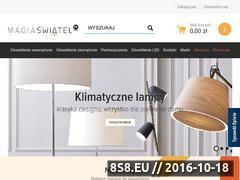 Miniaturka domeny magiaswiatel.pl