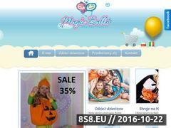 Miniaturka domeny www.magicballo.pl