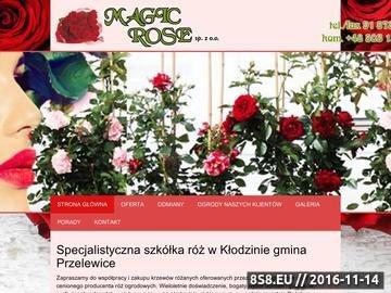 Zrzut strony MAGIC ROSE Krzewy ozdobne róże