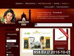 Miniaturka domeny www.magiczne-indie.pl