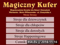 Miniaturka domeny magicznykufer.pl