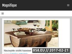 Miniaturka domeny www.magnifique.pl
