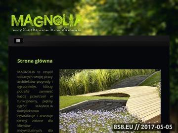 Zrzut strony F.U.H. MAGNOLIA - architektura krajobrazu i nawadnianie