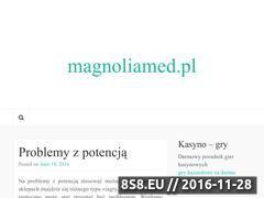 Miniaturka domeny www.magnoliamed.pl