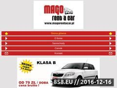 Miniaturka domeny www.magorentacar.pl